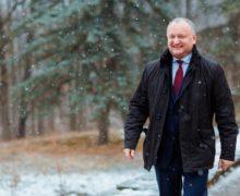 «Я готовил основу для перемен к лучшему». Игорь Додон поздравил граждан с Новым годом