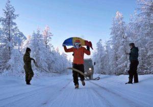 Глава молдавской компании пробежал ультрамарафон на«полюсе холода» при −60°C