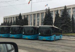Дело опокупке синих автобусов. Суд арестовал имущество подозреваемых на3млн леев