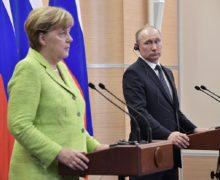 Меркель приедет вМоскву поприглашению Путина. Они обсудят ситуацию наБлижнем Востоке