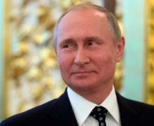 Путин поздравил Санду с 30-летием независимости Молдовы