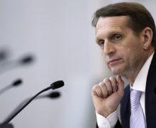 """«США готовят """"цветную"""" революцию вМолдове». Нарышкин заявил овмешательстве США вовнутреннюю политику Молдовы"""
