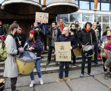«Мы протестуем против того, что порождает таких людей, каквы». Что OccupyGuguta ответили назаявления владельца кафе «Гугуца»