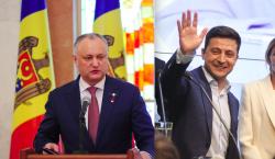 Додон поддержал территориальную целостность Украины. И хочет встретиться с Зеленским