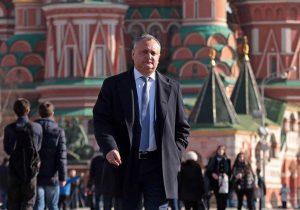 Путин пригласил Додона напразднование 75-летия Дня Победы вМоскве