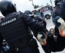 В Москве на акции протеста задержали более 800 человек