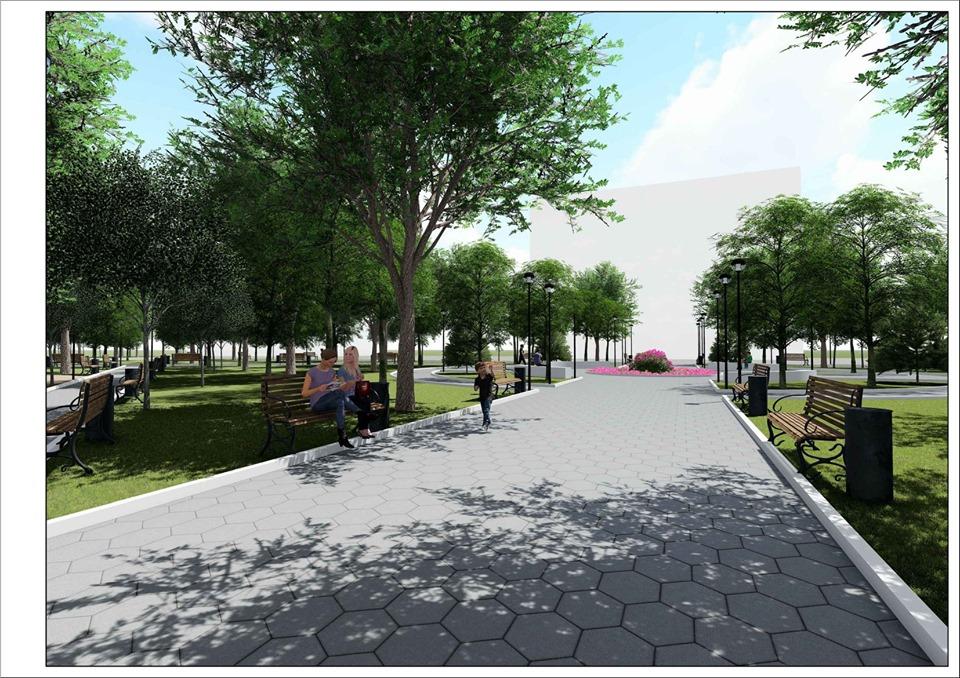 ВКишиневе началась реконструкция сквера завода «Мезон»