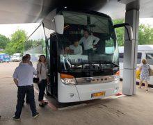 Минэкономики запустило автобусный рейс изКишинева вМилан