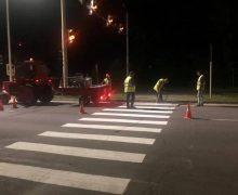 ВКишиневе будут по ночам ремонтировать дороги