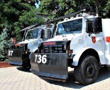 ВМолдове подаренные Эрдоганом машины для разгона демонстраций будут убирать снег