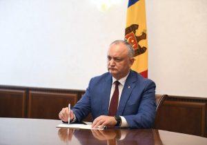 «Мыпревратимся вбанановую республику». Додон обугрозах закона обНПО для Молдовы