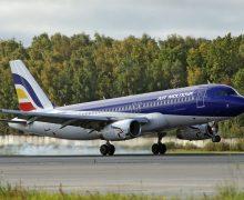 Вылетевший из Москвы в Кишинев самолет Air Moldova вернулся в Домодедово на одном двигателе