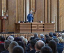 Мантия величия. Как на съезде судей Молдовы «юстиция вышла из зимы»
