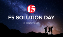 Кибербезопасность и доставка приложений: Кишинев посетит международное roadshow от F5…