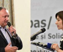«Новый составКС будет независимым». Додон иСанду приветствовали отставку судей Конституционного суда