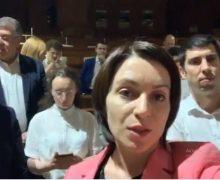 «Страну нужно спасти». Депутаты блока ACUM ждут социалистов впарламенте