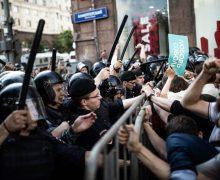 Выходца изМолдовы задержали вовремя митинга вМоскве. Ему грозит допяти лет тюрьмы