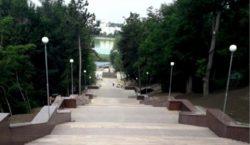 Открытие гранитной лестницы впарке Valea Morilor откладывается