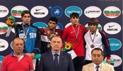 Молдавский борец Александрин Гуцу завоевал бронзу начемпионате мира среди кадетов