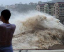 В Китае из-за тайфуна «Лекима» погибло 44 человека