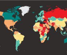 Молдова опустилась на четыре строчки в мировом рейтинге миролюбия