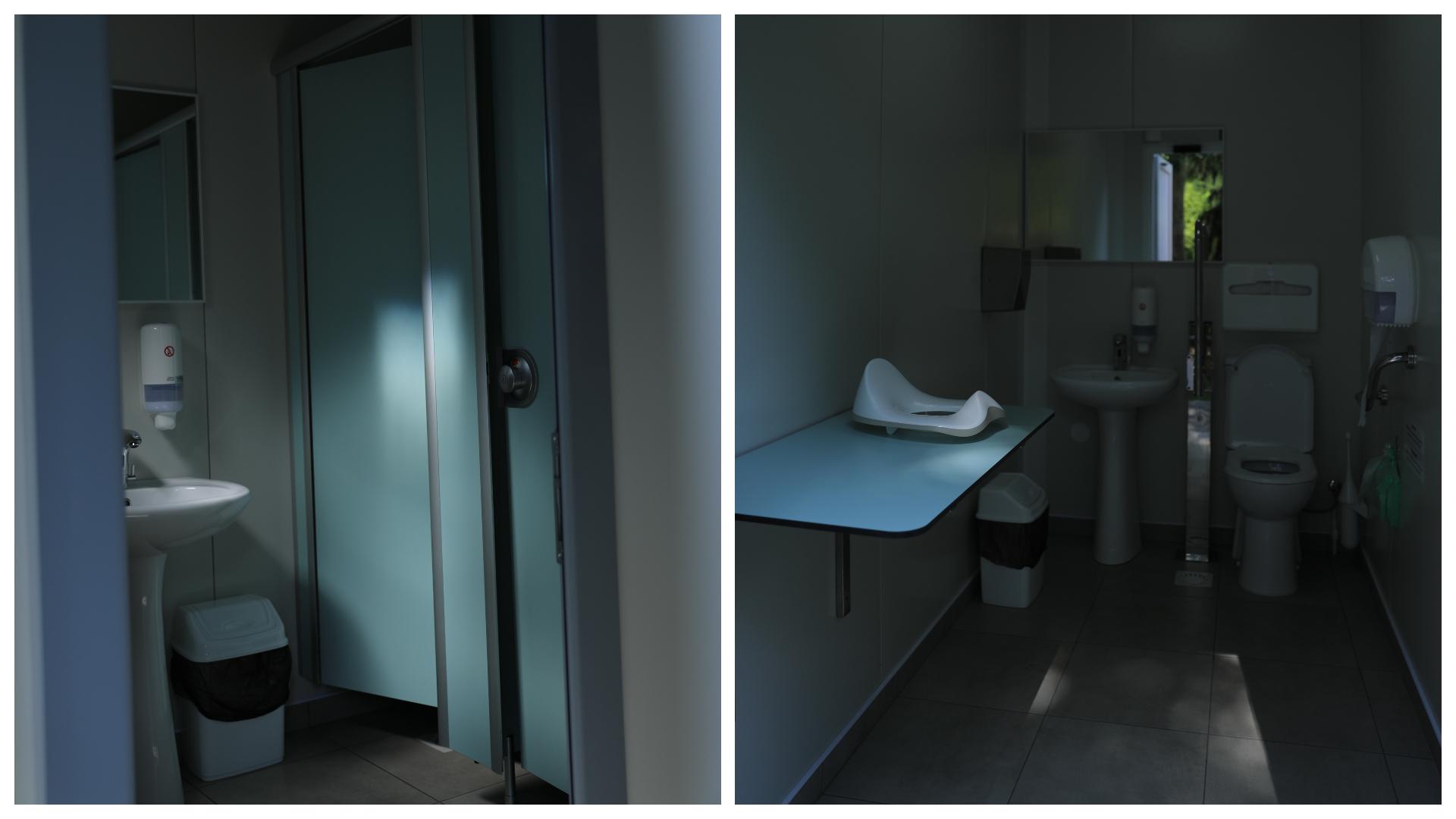 В Долине Роз открыли платный туалет. Когда будет готов общественный