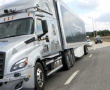 ВСША надорогах начали тестировать беспилотные грузовики
