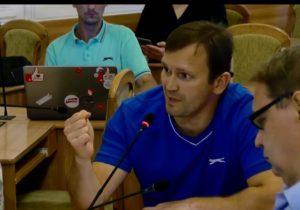 Активист Виталий Возной будет баллотироваться на пост мэра Кишинева отпартии «Европейские левые»