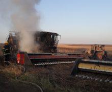 Пожар уничтожил 7 единиц сельхозтехники в Кагульском районе