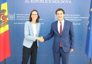 Министр Попеску встретился сгоссекретарем Франции поевропейским делам Амели деМонтшалин. Что они обсудили