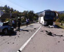 В Румынии автобус с гражданами Молдовы попал в аварию