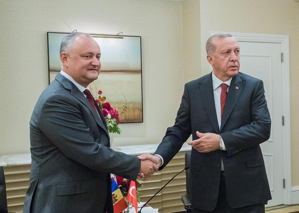 Додон встретился вСША сТрампом, Эрдоганом иЙоханнисом. Очем они говорили