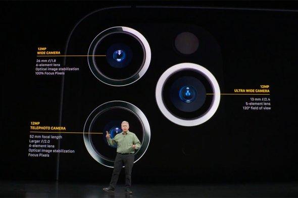 Айфоны сулучшенной камерой ичасы сновыми функциями. Apple представила свои новые продукты