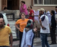 ВСтамбуле произошло землетрясение. Оно вызвало панику вгороде