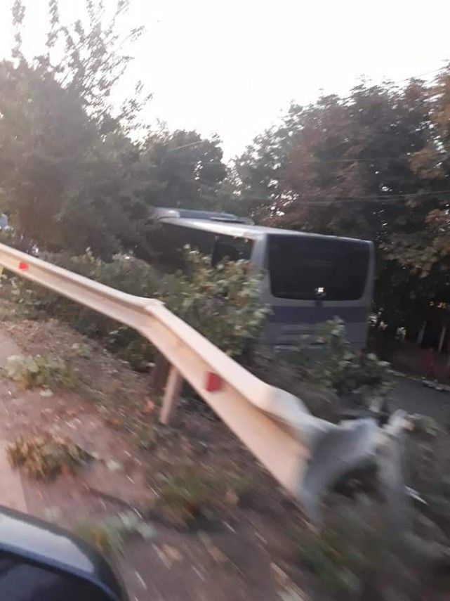 ВРумынии автобус сгражданами Молдовы попал ваварию. Есть пострадавшие
