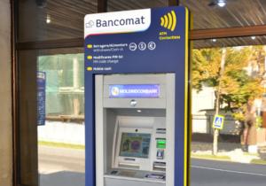Moldindconbank запустил первый банкомат в стране, принимающий бесконтактные карты