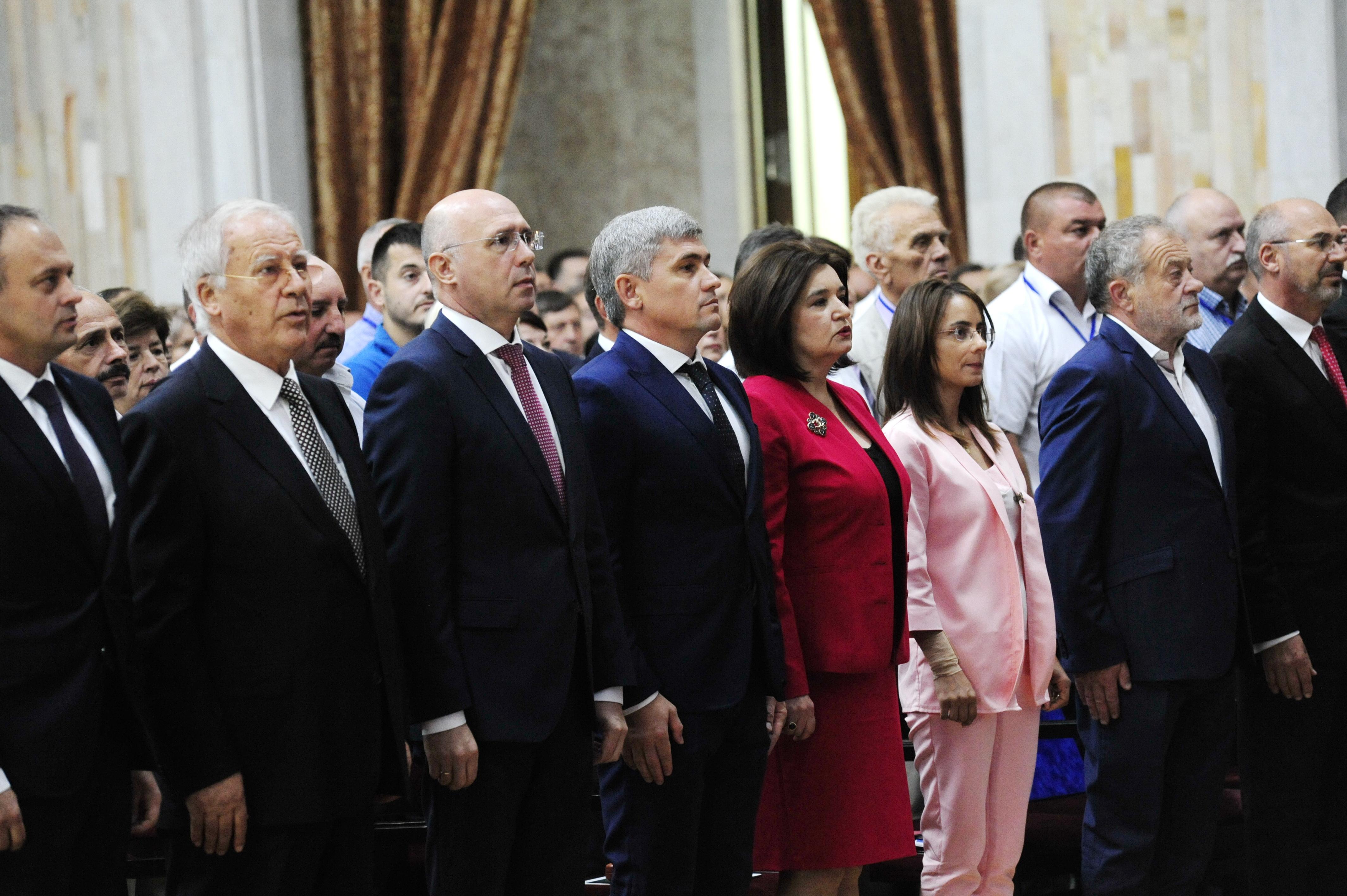 Демпартия избрала руководство иприняла декларацию против действий коалиции ACUM-ПСРМ. Фоторепортаж