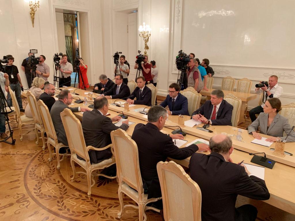 В Москве проходят переговоры глав МИД Молдовы и России. Что обсуждают Попеску и Лавров