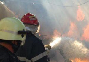 Вселе вБричанском районе произошел пожар. Один человек погиб
