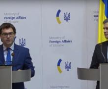 В Украину без загранспаспорта. О чем говорили главы МИД Молдовы и Украины в Киеве