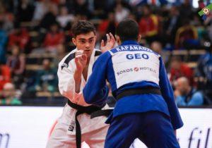 Молдавский дзюдоист завоевал серебро на чемпионате Европы
