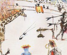 Из галереи в Сан-Франциско украли гравюру Сальвадора Дали. Преступнику понадобилось 32 секунды