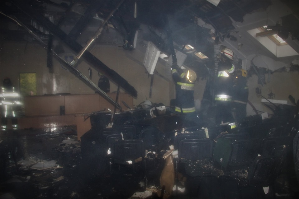 ВКишиневе вЦентре общественного здоровья произошел пожар (ОБНОВЛЕНО)