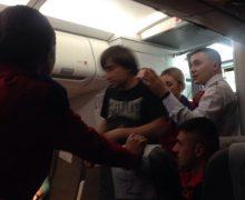 Пьяный пассажир устроил дебош наборту самолета Лондон-Кишинев. Что говорят вAir Moldova