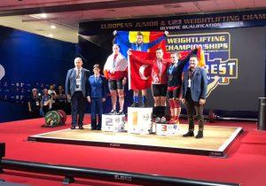 Молдавская спортсменка стала европейской чемпионкой поподнятию штанги. Ее результат — 231кг