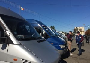 ВКишиневе водители междугородних маршруток вновь выйдут напротест. Что они требуют