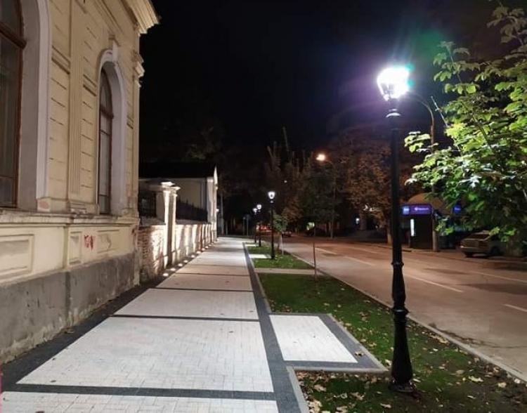 Ремонт пешеходных зон висторическом центре Кишинева закончат коДню города