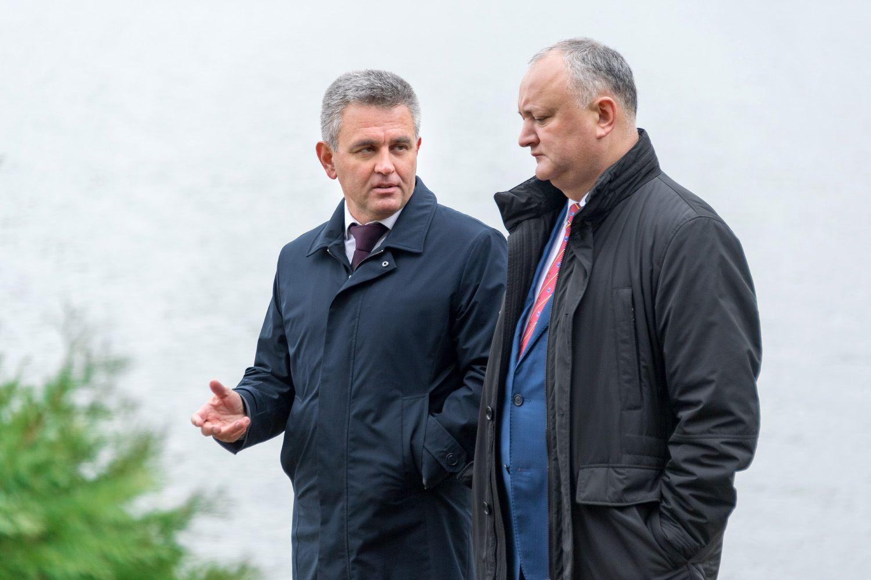 Руководство Приднестровья и Молдовы
