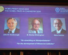 Нобелевскую премию похимии присудили залитий-ионные батареи
