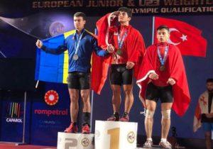 Тяжелоатлет изМолдовы Марин Робу стал вице-чемпионом Европы
